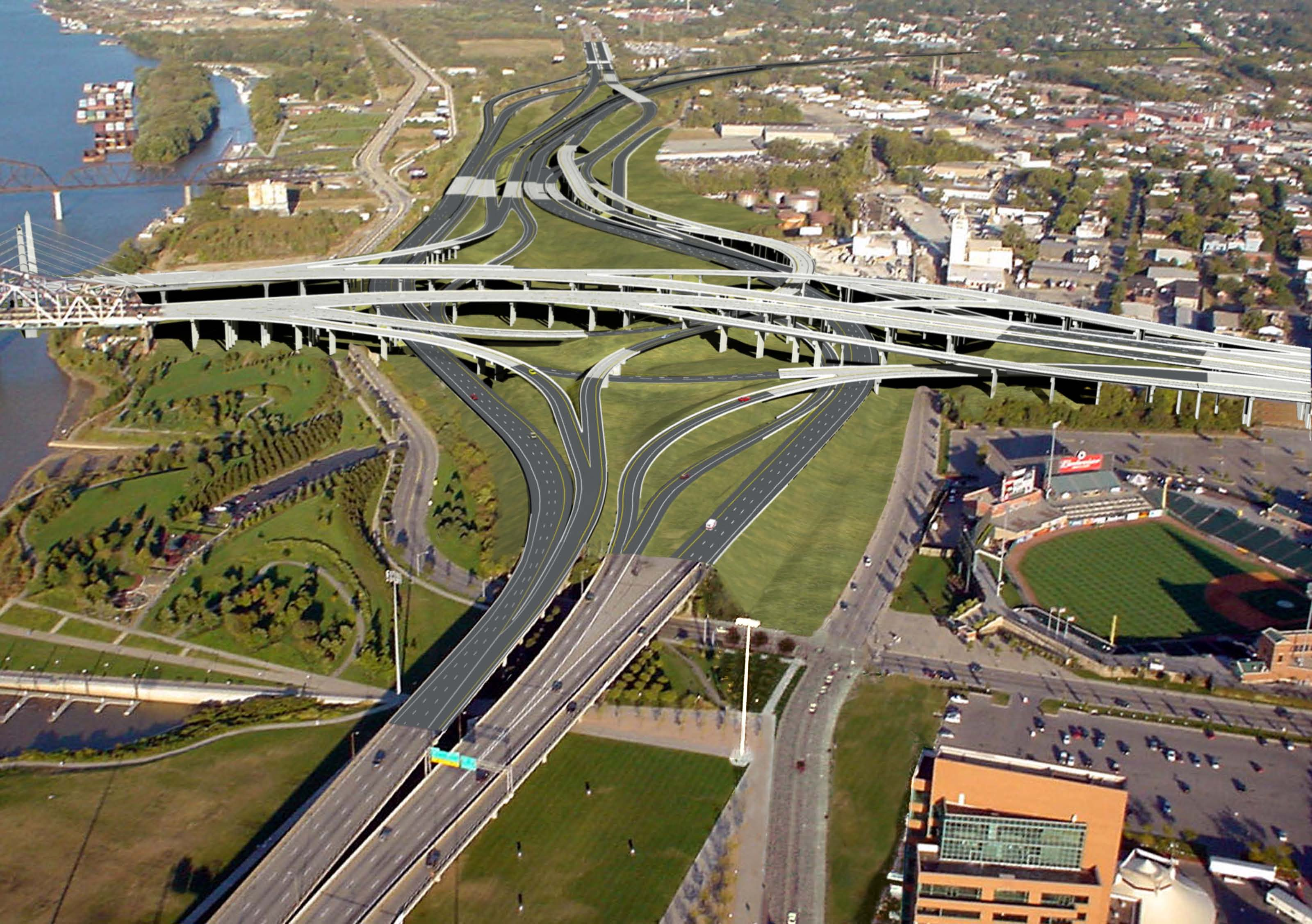 Kennedy Interchange – Ohio River Bridges